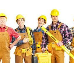 рабочие